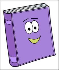 Clip Art: Cute Book 1 Color 2 I abcteach.com   abcteach