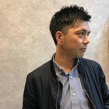 オフィス 結婚式 ショート メンズhair Spacea Alma 雄一郎hairspace