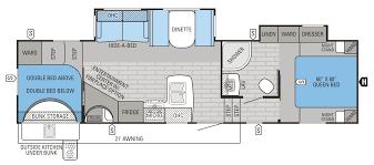 2016 eagle ht 29 5bhds floorplan