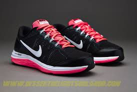 nike running shoes for girls black and white. cheap girls running shoes - nike dual fusion run 3 (gs) black/white/hyper punch/white clwl629f9fxdls for black and white