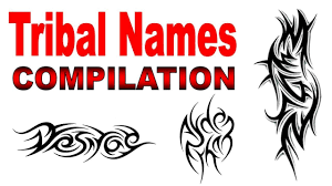 Free Name Designs For Tattoos Tribal Names Tattoo Designs Compilation By Jonathan Harris