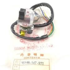 nos oem honda switch assembly turn signal light horn na50 nc50 image is loading nos oem honda switch assembly turn signal light