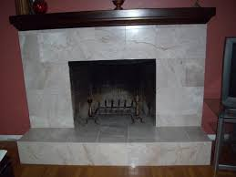 Tile Fireplace Makeover Fireplace Refacing All About Stone Veneer Stone Fireplace