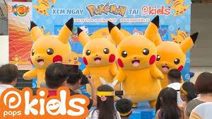 Sự Kiện Ra Mắt Loạt Phim Pokémon Trên POPS Kids (FULL SHOW) - YouTube