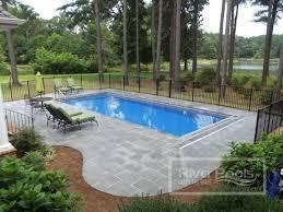 backyard designs with pool. Small Inground Pool Ideas With Backyard Plus Semi Together Fiberglass Designs