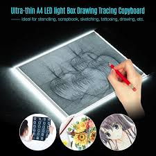 Light Box Drawing Tracing A4 Size Led Light Box Drawing Tracing Tracer Copy Board
