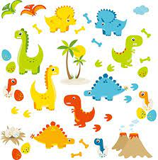Avenger characters gallery art peel and stick wall mural. Amazon Com Homeevolution Large Cartoon Dino Friends Peel And Stick Dinosaur Wall Decals Stickers For Kids Babies Playroom Decor Kitchen Dining