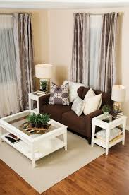 wall color for brown furniture. Contemporary Living Room Decor Ideas - Brown Couch With The White Coffee Table And Matching End Tables. Even Curtains Are Perfect Match. Wall Color For Furniture E