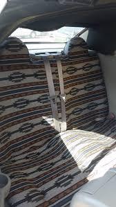 2007 chrysler sebring convertible rear tan aztec seat covers