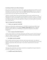 Effective Resumes Tips Mesmerizing Sample Effective Resume Colbroco