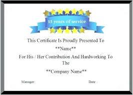 Years Of Service Award Wording Fresh Beautiful Work Anniversary Certificate Templates Pics Year