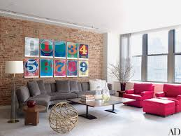 will ferrell s industrial new york city loft features colorful