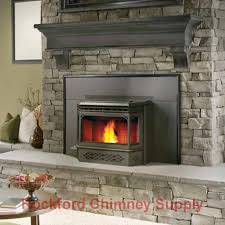 napoleon npi45 pellet burning fireplace insert with flashing blower fan 629169026685