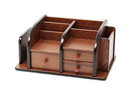 office wood desk. Wood Desk Organizer Amazon Com Cherry Brown Office Wooden With 3 S