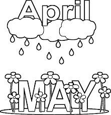 Small Picture April Showers Coloring Pages zimeonme