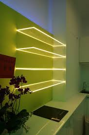 kitchen led lighting ideas. glass shelves with lights kitchen led lighting ideas
