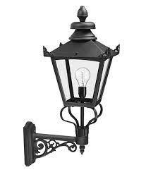 large victorian bracket wall lantern