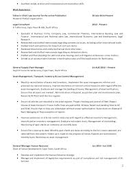 Communication Resume Sample Example Of Bartender Resume Excellent