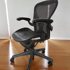 classic office chair. Herman Miller Aeron Classic Office Chair, Furniture, Tables \u0026 Chairs On  Carousell Classic Office Chair