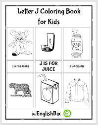 See more ideas about alphabet coloring pages, alphabet coloring, coloring pages. Letter J Pictures Coloring Book For Kids Englishbix