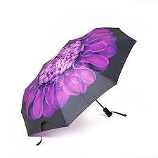 Umbrella Oak Leaf Windproof Automatic Compact Rain Travel