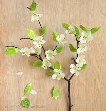 Paper Flower Branches Diy Paper Cherry Blossom Branches A Piece Of Rainbow