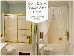 full size of howtoremoveshowerglassdoors replace shower door with curtain how to remove glass doors half screen