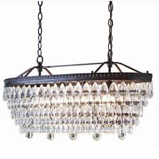 allen roth eberline 11 81 in 4 light oil rubbed bronze inside lovable chandeliers