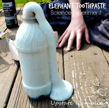 elephant toothpaste save the experiment is a decomposition of hydrogen peroxide which is a chemical reaction