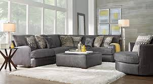 gray sectional sofas. Beautiful Gray Skyline Drive Gray 2 Pc Sectional To Sofas R