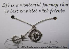 Compass Quotes Interesting Anchor And Compass Best Friend Necklace And Quote