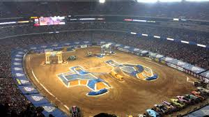 Monster Jam Atlanta Seating Chart 15 Monster Jam View From The Cheap Seats Youtube