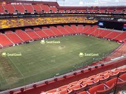 Fedex Field Seating Chart Seatgeek