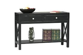 black console table with storage. Fine Table Distressed Black Console Table Furniture Appealing  Design With 2 Drawers And Storage Space With Black Console Table Storage L