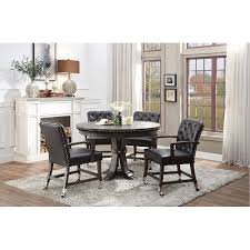 Living Room And Dining Room Enchanting Caster Dining Sets Dining Room RC Willey
