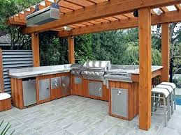 built in bbq covers built in barbecue grill covers outdoor kitchen grills designs ideas and decors