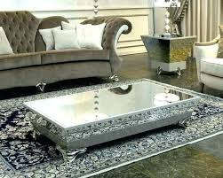 glass coffee table ideas tree trunk set contemporary steve silver voyage