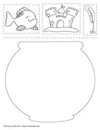 Save & print free ➤lotus koi fish coloring worksheets for your child to strengthen world of imagination & creativity. Free Printable Fish Bowl Templates The Artisan Life