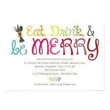 Christmas Gathering Invitation Wordings Invitation Greeting Cards
