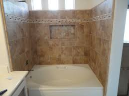 garden tub shower conversion kit. irvine soaking tub with rain glass shower doors \u0026 recessed shampoo shelf mediterranean-bathroom garden conversion kit