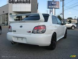 2006 Aspen White Subaru Impreza WRX STi #35353755 Photo #8 ...