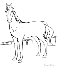 Small Picture Coloring pages of horses Large selection of free printable