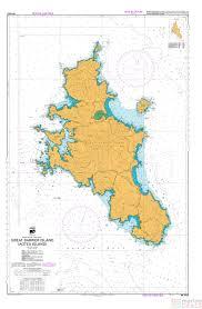 Nz 5222 Great Barrier Island Chart Aotea Island