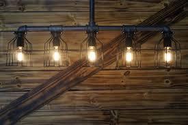 best plumbing pipe light fixture