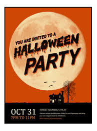 halloween template flyer halloween flyer office templates