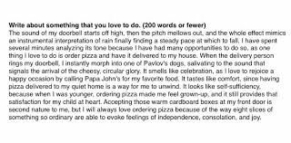 carolina williams on i just want papajohns to know that  carolina williams on i just want papajohns to know that i wrote a college essay about how much i love to order their pizza and it got me into
