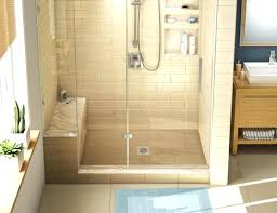 glass shower enclosures ideas walk in kits with seat on incredible 11