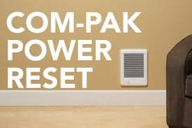 multiple heaters just one thermostat how to power reset a com pak or com pak twin heater