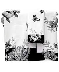 black and white bath towels. Lenox Bath Towels, Moonlit. Black And White Towels