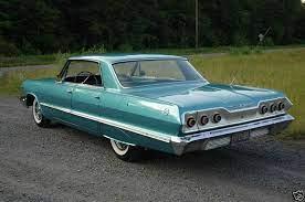 1963 Chevrolet Impala 4 Door Sedan Auto Carros Chevette
